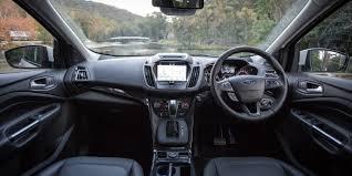 Ford Escape Inside - 2017 ford escape 2 0l titanium review caradvice