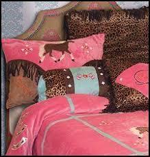 Girls Horse Comforter Bedding With Horses On It For Girls Kids Horse Theme Bedroom