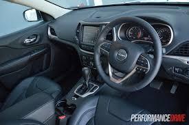 jeep grand cherokee interior 2015 2015 jeep cherokee limited diesel review video performancedrive