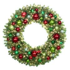 60 prelit traditional wreath sam s club