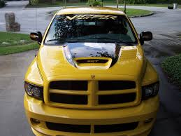 honeycomb grille in a yellow fever dodge ram srt 10 forum