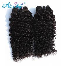 buy hair extensions ali sky malaysian curly nonremy hair weaving bundles human