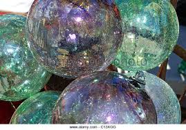 recycled glass ornaments stock photos recycled glass ornaments
