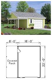 27 best one car garage plans images on pinterest garage plans