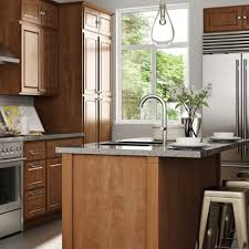 Kitchen Cabinets Color Gallery At The Home Depot - Cognac kitchen cabinets