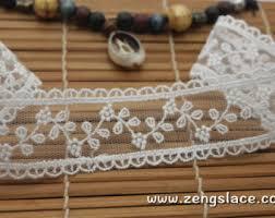wide lace ribbon white crochet lace ribbon lace trim white lace 1 5 wide by the