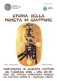 si鑒e d appoint auto circolo numismatico monzese conferenza su storia della moneta in