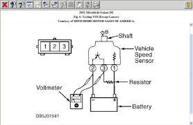 2002 mitsubishi galant speedometer odometer not working aft