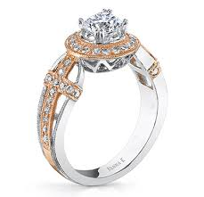 christian wedding rings sets vanna k s antique feel engagement rings inspired by armenian