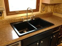 fix kitchen sink faucet leak change trap replacing drain gasket