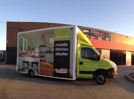 kitchen kaboodle furniture bunnings kitchen kaboodle mobile display kitchen built on the