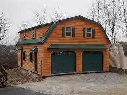 gambrel garage 24 x 28 raised roof gambrel garage with 8 overhang in new