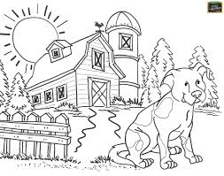free teaching tool printable agricultural coloring page for kids