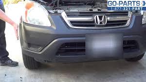 2016 honda crv fog lights replace 2002 2006 honda cr v bumper cover grille how to change