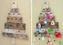 Calendrier De L Avent Fabriquer Un Calendrier De Fabriquer Un Calendrier De L Avent En Bois 15 Arbres De Noël