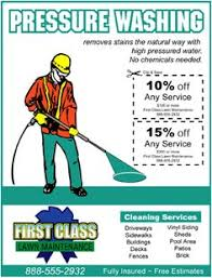 Pressure Washing Estimate by Business Card Redesign For A Pressure Washing Company Business
