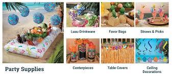 luau party decorations luau party decorations a to zebra celebrations