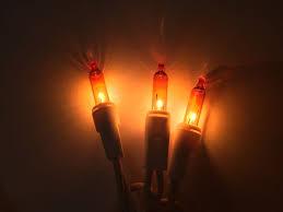 6v replacement mini light bulbs 50 orange mini christmas lights