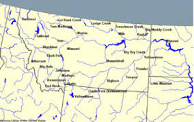 bitterroot mountains map bitterroot river