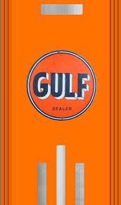 gulf logo gulf gas pump refrigerator wrap u2014 rm wraps