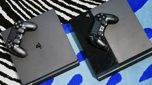 Ps 4 Ps4 Slim 500 Gb Gold Original Garansi Resmi Sony Pes 2018 see how much slimmer and lighter sony s new playstation 4 is than