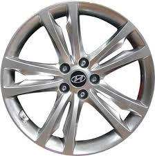 silver hyundai genesis coupe aly70790u hyundai genesis coupe wheel hyper silver 529102m120