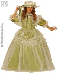southern belle milady costume 3490p book week childrens