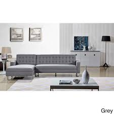 Grey Chaise Sectional Us Pride Furniture Dorris Fabric Contemporary Left Chaise