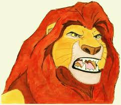 My Watercolor Rendition Of Mufasa From The Lion King The Life Mufasa King