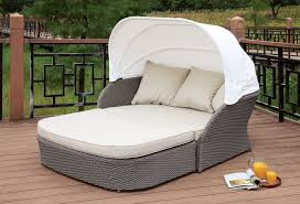 Outdoor Day Bed by Furniture Of America Os2107 Outdoor Patio Canopy Daybed