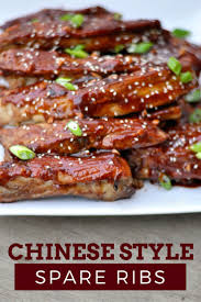 chinese style spare ribs first home love life
