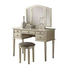 Vanity Set With Lighted Mirror Vanities U0026 Makeup Tables Ebay