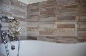 indoor mosaic tile bathroom floor natural stone gontero