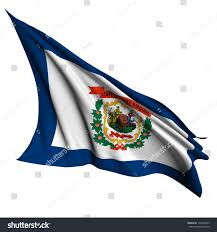 Virginia Flags West Virginia Flag Usa State Flags Stock Illustration 109478855