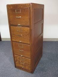 Library File Cabinet Library Bureau Sole Makers Quartersawn Oak File Cabinet
