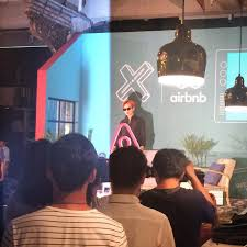 photos videos g dragon and airbnb press conference to announce