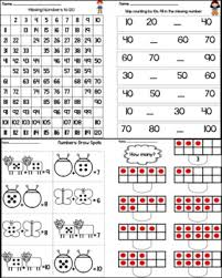 kindergarten math worksheets for common core by intentional momma