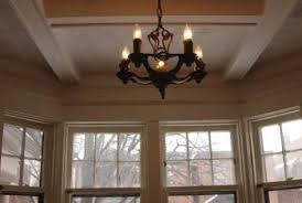 Coffered Ceiling Lighting by How To Make A Coffered Ceiling Home Guides Sf Gate
