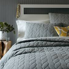 What Size Is A Twin Duvet Cover Braided Quilt Shams West Elm
