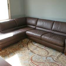 Leather Sectional Sleeper Sofas Italsofa Leather Sectional Sleeper Sofa Ebth
