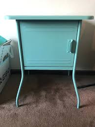 table gorgeous teal bedside table blue nightstands small