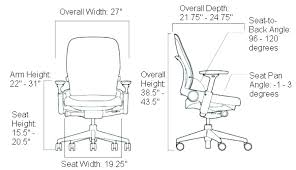 Office Desk Height Standard Typical Chair Height Standard Office Chair Height Standard Office