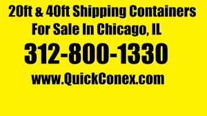 20ft u0026 40ft shipping containers for sale in chicago il youtube