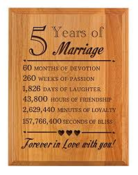 fifth anniversary gift fifth anniversary wood archives anniversary gifts
