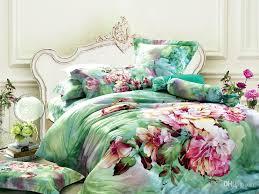 green floral bedding comforter set sets king size duvet