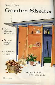 growing season u2013 plans for a mid century modern garden shed no