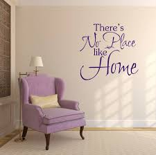 no place like home wall sticker by mirrorin notonthehighstreet com no place like home wall sticker purple