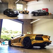 chrome porsche gold chrome wrapped lamborghini aventador satin xpel stealth