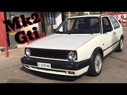 Golf Gti Mk2 Interior Mk2 Vw Golf Gti Walk Around Interior And Sound Youtube