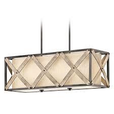 kichler lighting parts kichler lighting cahoon island light with rectangle shade
